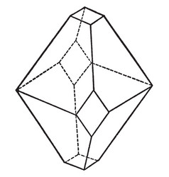 Union of a pyramid and a prism of different vector