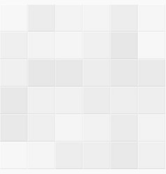 White and gray tiles on bathroom wall tiled vector