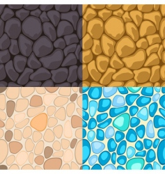 seamless stone vector image vector image