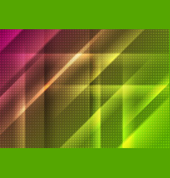 abstract bright shiny geometric tech background vector image