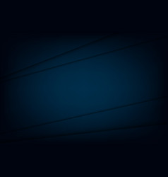 abstract dark blue background design template vector image