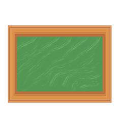 blackboard chalkboard school isolated icon stock vector image