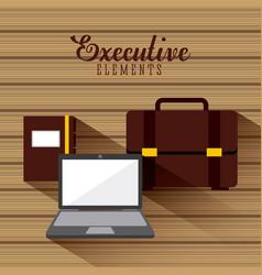 business elements design vector image