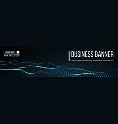 Computer banner business banner design eps vector