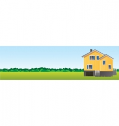 farm banner vector image
