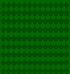green fish snake scale skin simple seamless vector image