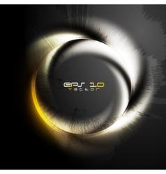 Grunge logo vector