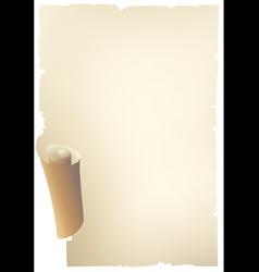 old paper banner vector image