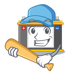 Playing baseball accomulator in the a character vector