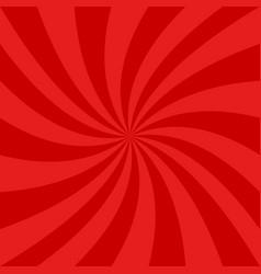 red spiral design background - graphics vector image