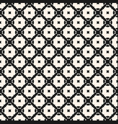seamless geometric ornament pattern carved shapes vector image