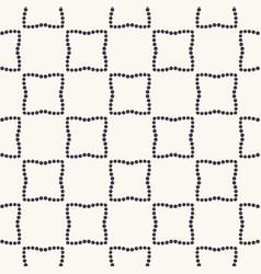 Seamless pattern hand drawn polka dot background vector