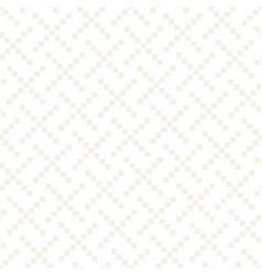 Seamless subtle cross lattice pattern abstract vector