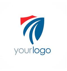 Shield guarantee logo vector