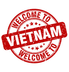 welcome to vietnam vector image