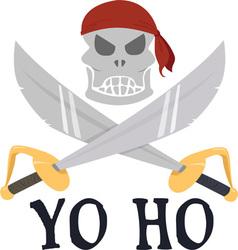Yo Ho vector image