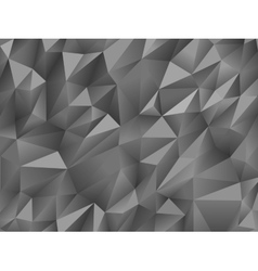 Gray white abstract low-poly polygonal triangular vector image
