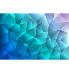 Abstract gradient low polygonal background vector
