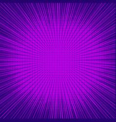 Abstract purple explosive concept vector