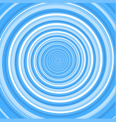 blue twirl spiral abstract background vector image