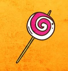 Lollipop Cartoon vector