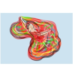 Mexican dance vector image