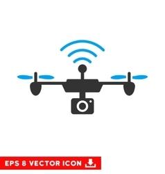 Radio Camera Airdrone Eps Icon vector