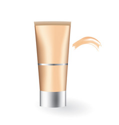 Foundation cream vector