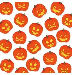 Halloween card party invitation vector