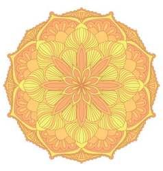 Mandala Oriental decorative elementIslam Arabic vector image