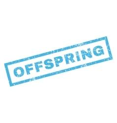 Offspring Rubber Stamp vector