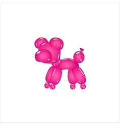 Pink Balloon Pig vector