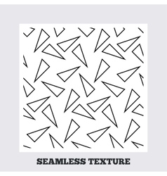 Triangles geometric seamless pattern vector