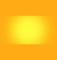 Yellow halftone background vector