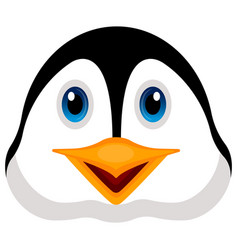 avatar of a penguin vector image