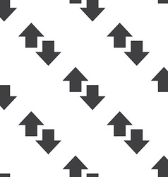 up and down arrow seamless pattern vector image vector image