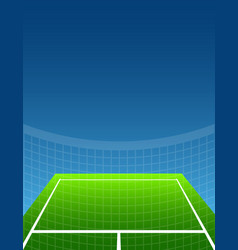 Abstract sport background tennis vector