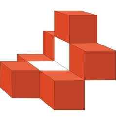 cubes color 13 vector image