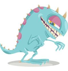 Fantasy monster cartoon vector
