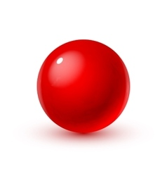 Glass sphere with blood vector