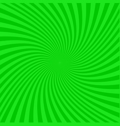 Green spiral background - graphic vector