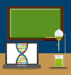 Laboratory icons vector