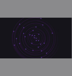 modern background with radial moving and glowing vector image