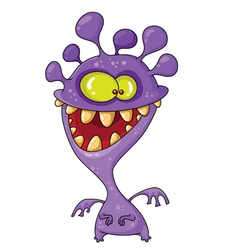 Monster funny vector