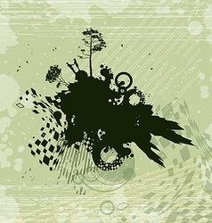 Romance Fantasy Concept Background vector image