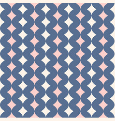 seamless pattern for girls and boys pastel colors vector image