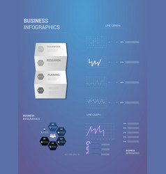 Abstract paper infografics eps10 vector