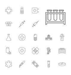 22 pharmacy icons vector