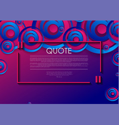 abstract blue purple grunge circles background vector image