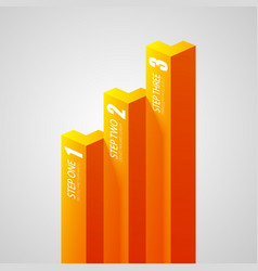 Abstract business infographics vector